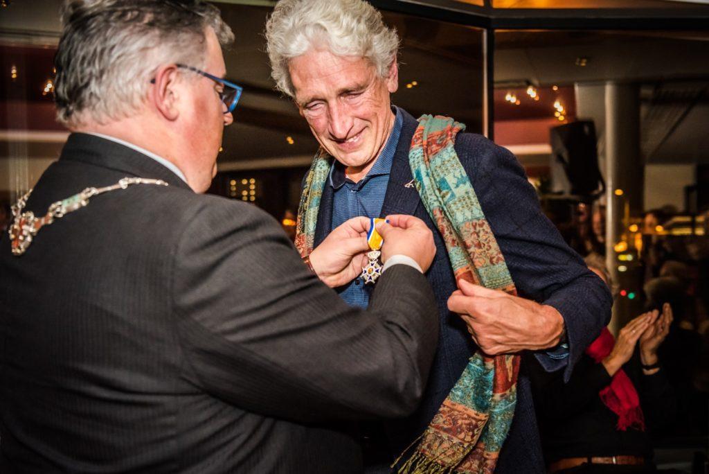 Ridder in de Orde van Oranje Nassau Ton van Lieshout