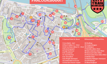 2de editie City Trail Nijmegen vanaf de Grote Markt