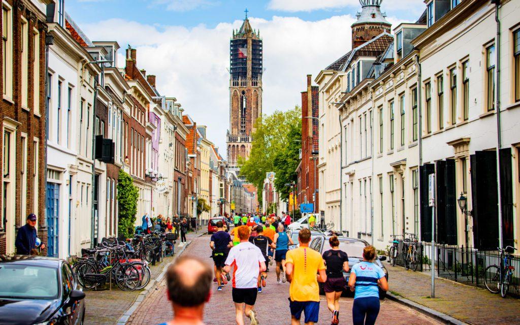 Utrecht Marathon en de Dom Toren