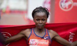 Brigid Kosgei verdedigt haar titel in 2020 Londen Marathon