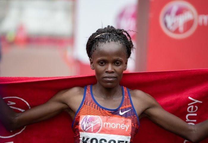 Brigid Kosgei winnares Londen Marathon 2019