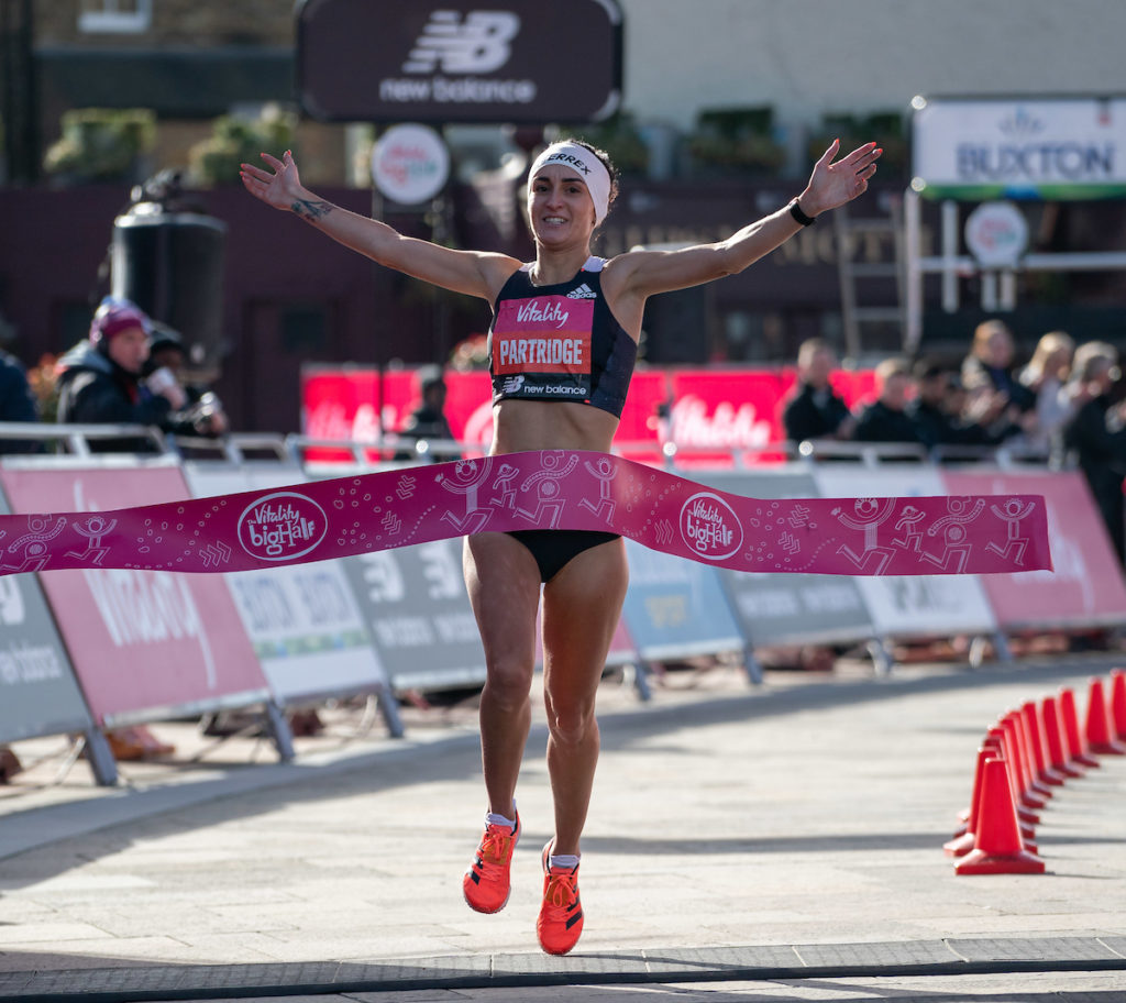 Lilly Partridge The Vitality Big Half 2020