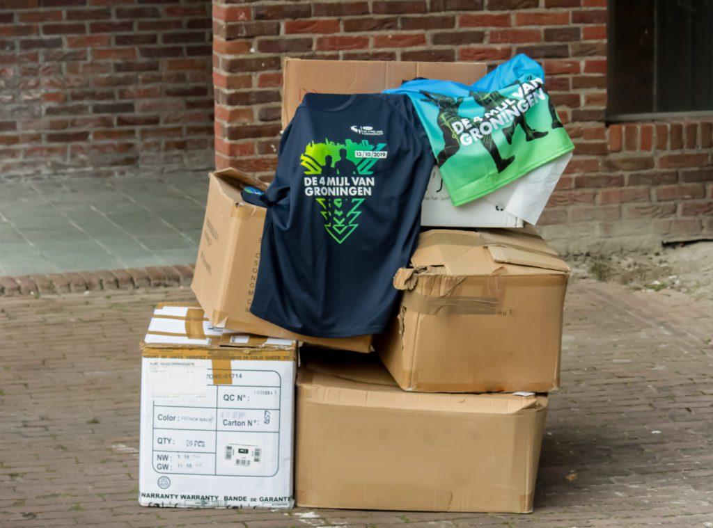 Hardloopshirt van 4 Mijl gedoneert voor strijd coronavirus
