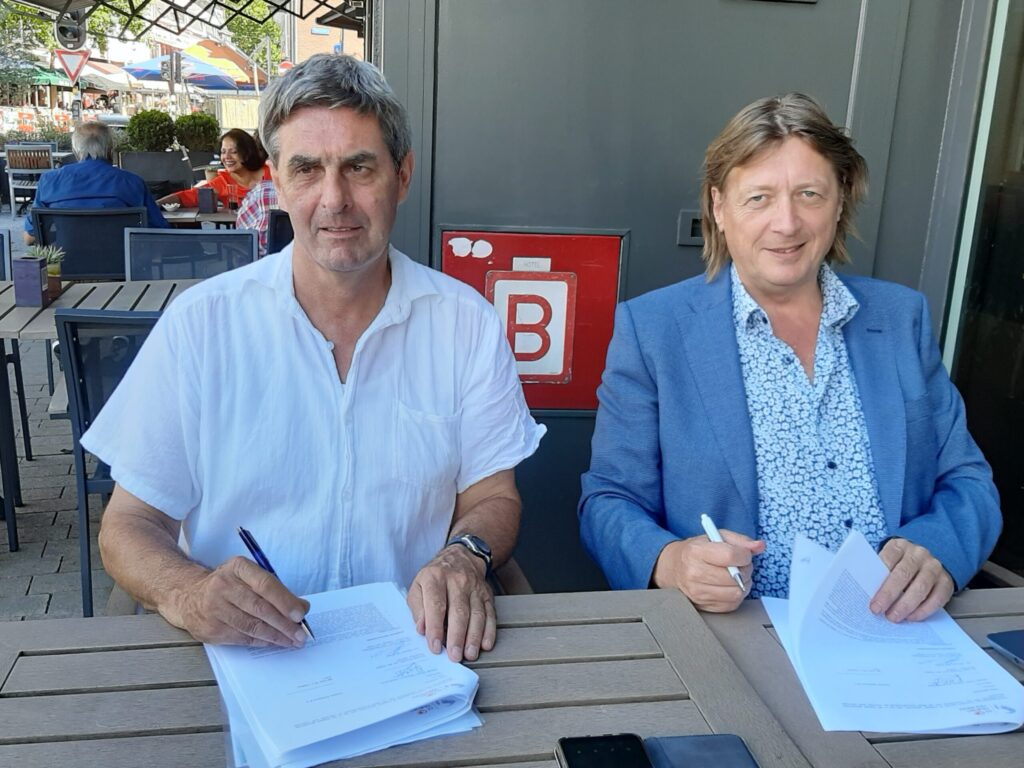 Tilburg Ten Miles en Tilburg4GlobalGoals tekenen