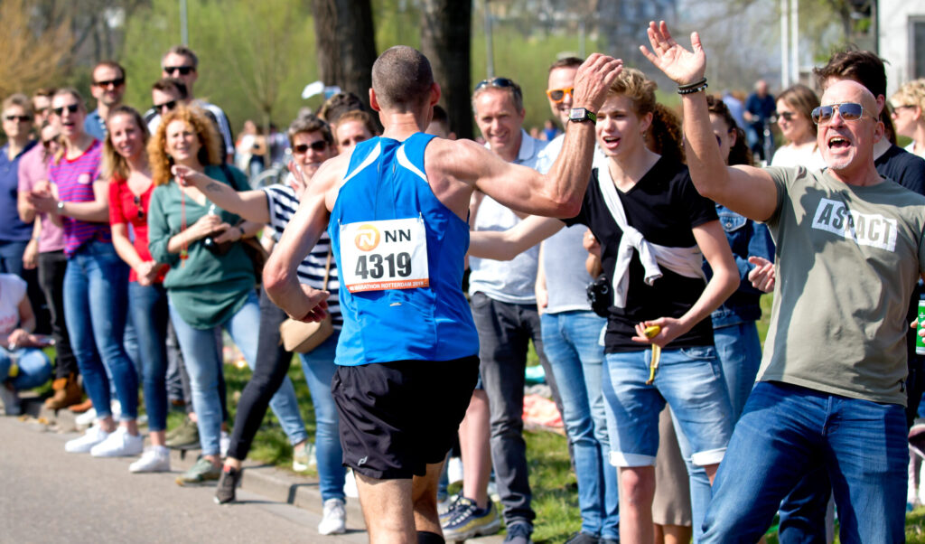 Marathon Rotterdam publiek