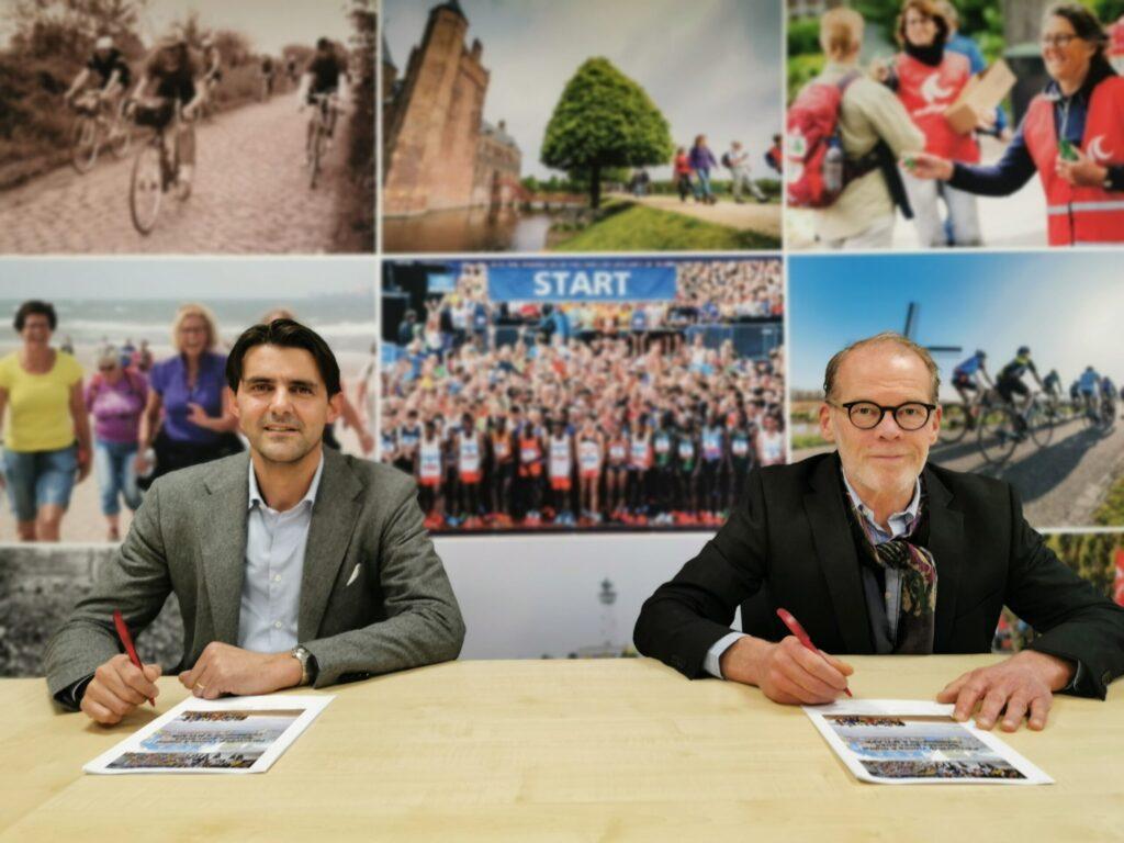 contract tekenen voor Vernieuwde samenwerking Le Champion en MYLAPS voor ultieme sportbeleving