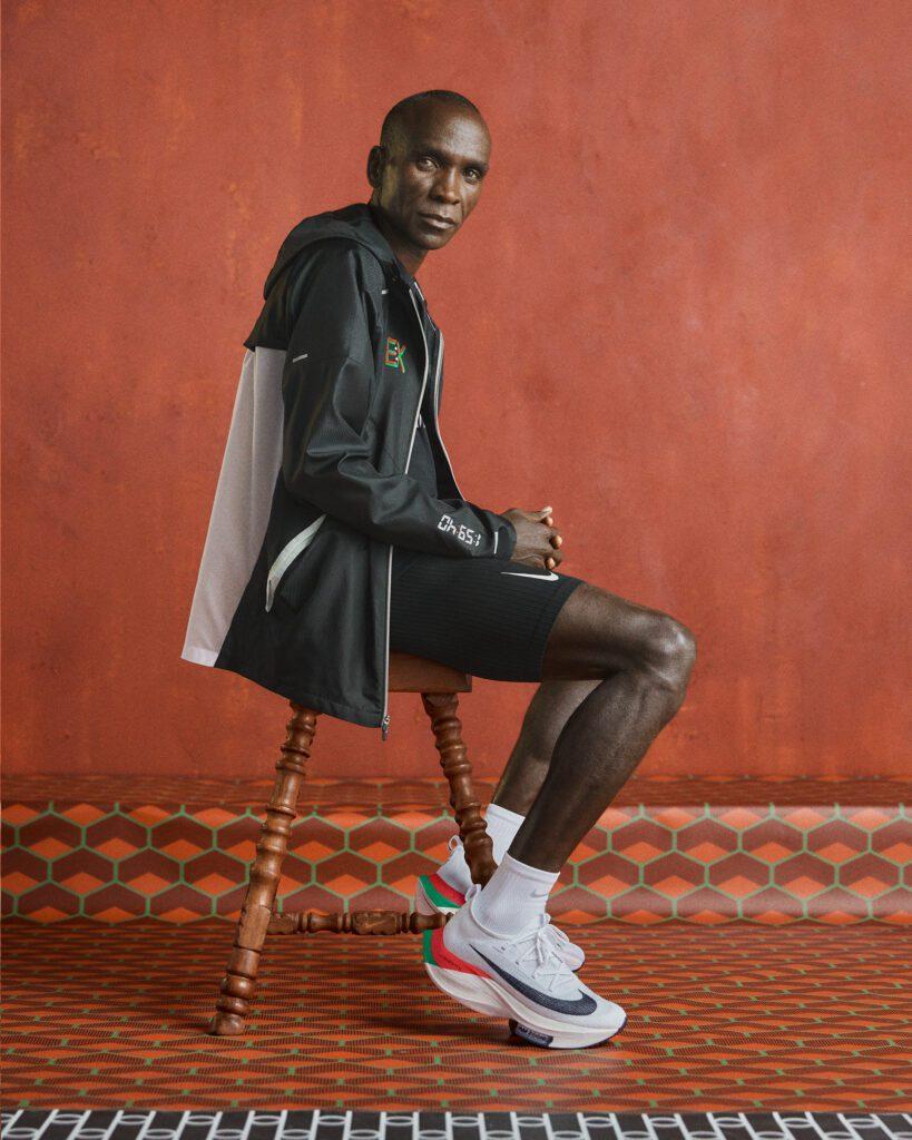 Eliud Kipchoge kledinglijn EK met Nike