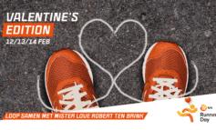 NN & Golazo introduceren NN Running Day: Valentine's Edition