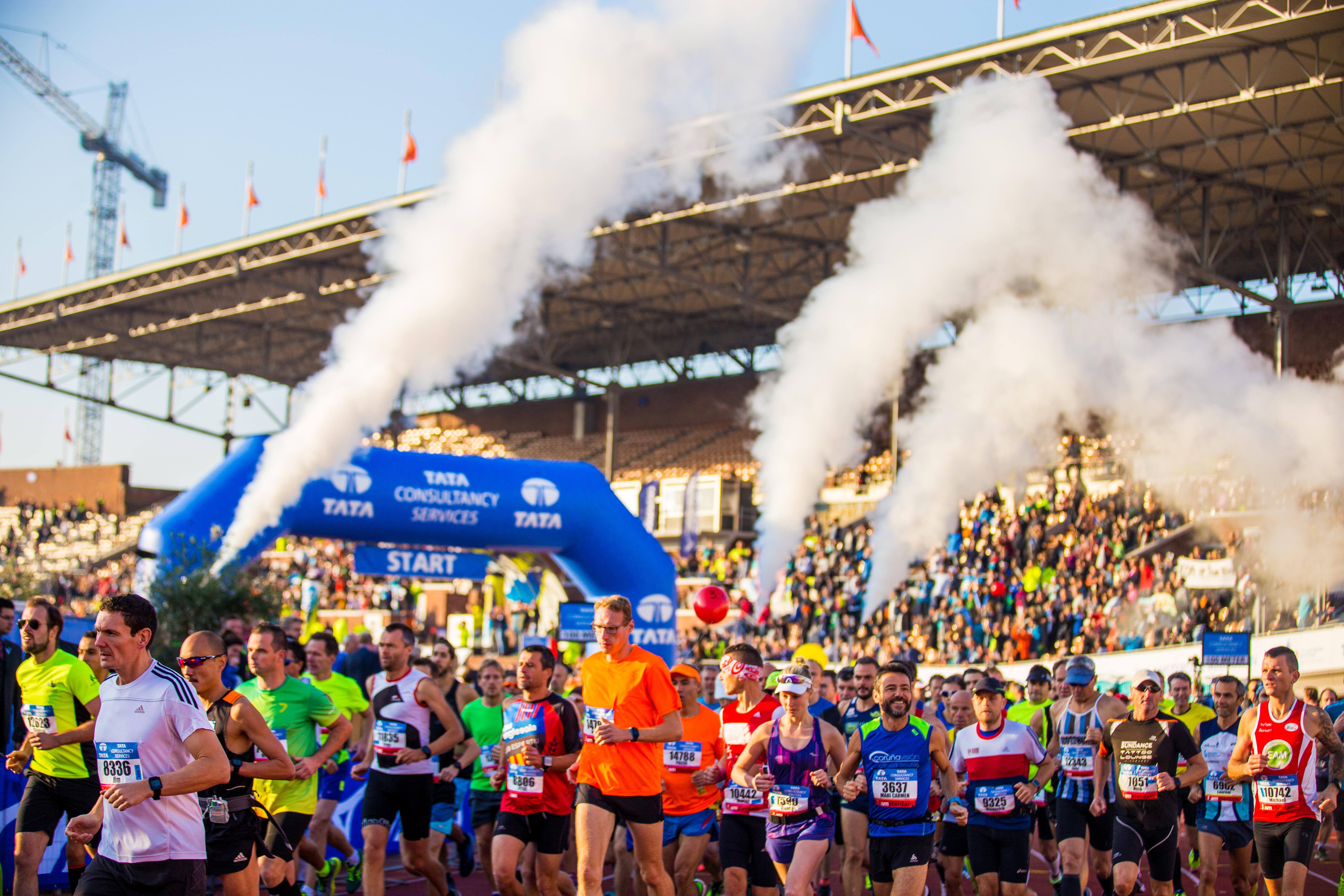 Inschrijving van start voor Amsterdam Marathon 2021
