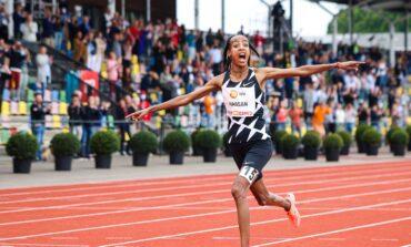 Sifan Hassan verbreekt 10.000 meter wereldrecord tijdens FBK Games