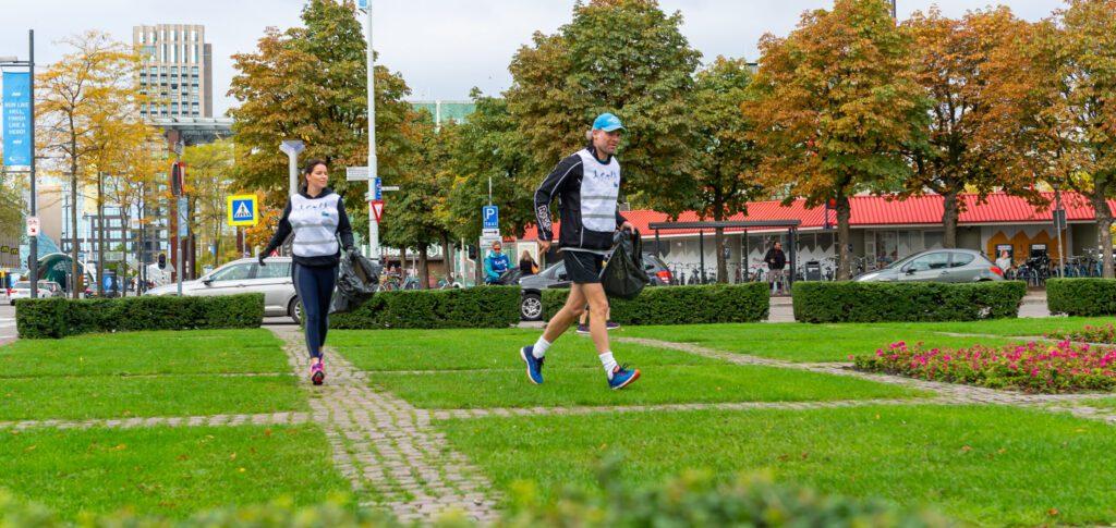 Marathon Eindhoven Renewi Plogging Run