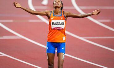 Sifan Hassan wint goud op de 10.000 meter