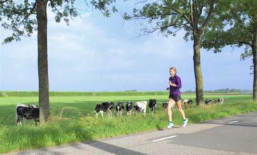 Parcours NK 10 km op de weg verkend door kanshebber titel: Bo Ummels