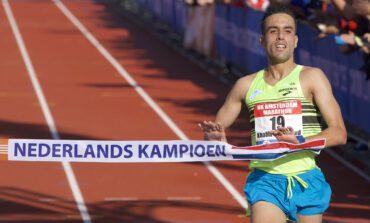 Khalid Choukoud en Bo Ummels lopen voor nationale titels tijdens Amsterdam Marathon