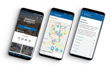 Download of update de vernieuwde Marathon Eindhoven app