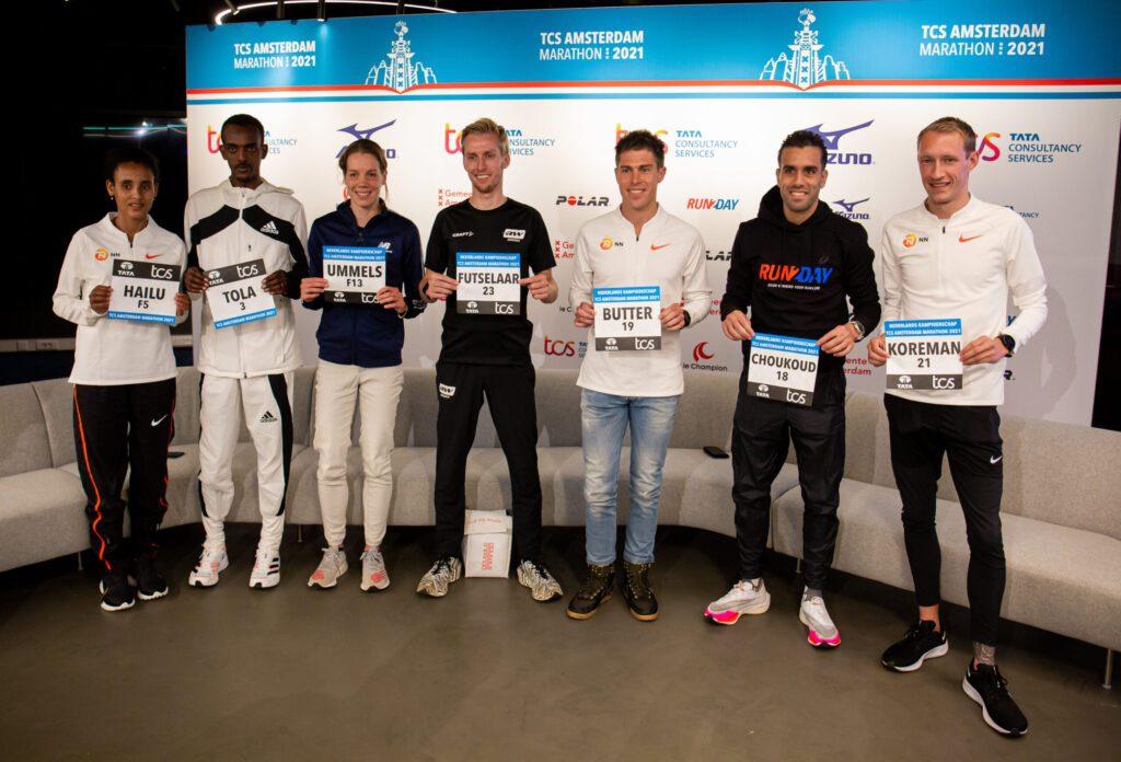 Persconferentie Amsterdam Marathon